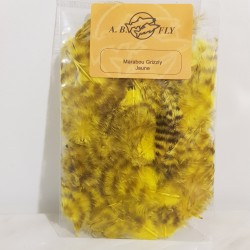marabou grizzly A.B.FLY jaune