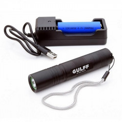 LAMPE UV GULFF PRO 365 FLASHLIGHT