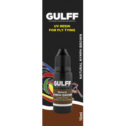 GULFF REALISTIC COLOR NATURAL NYMPH BROWN 15ML
