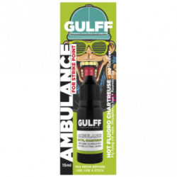 GULFF AMBULANCE COLOR RESINE CHARTREUSE 15ML