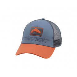 casquette TROUT ICON TRUCKER simms storm