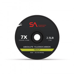 ABSOLUTE FLUOROCARBON TROUT scientific anglers