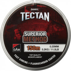 Fluorocarbone dam Tectan superior Method Marron 150M