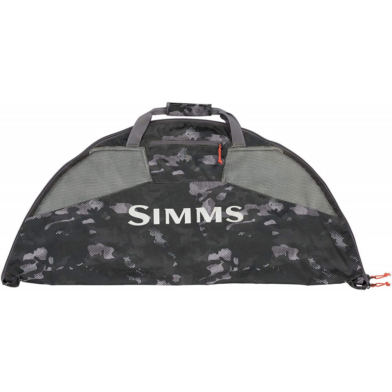 Simms Taco Bag Hex Flo Camo Carbone