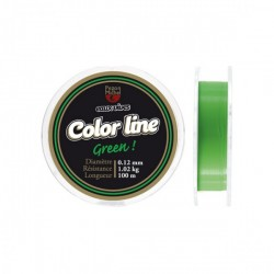 nylon color line green...