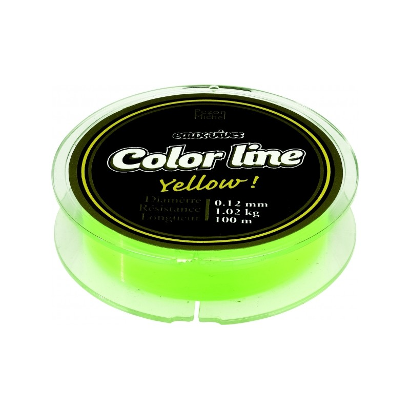 nylon color line yellow pezon&michel